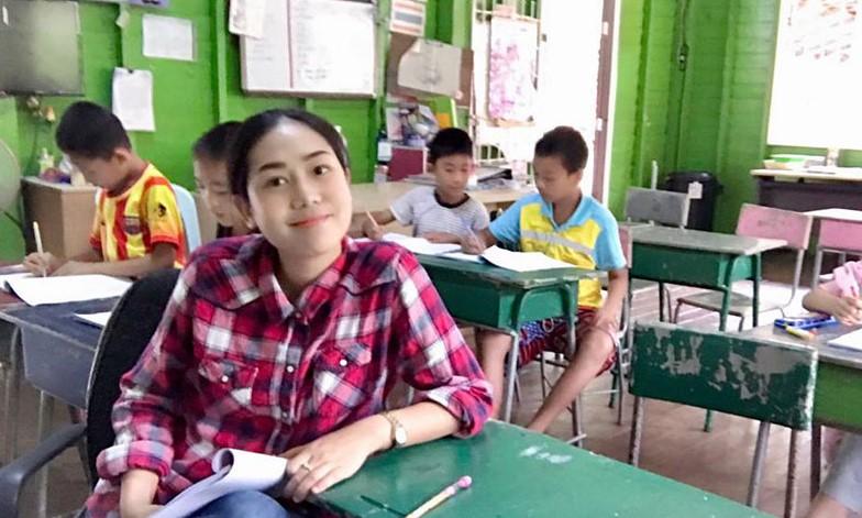 ครูสาวสวยปริญญาเอก