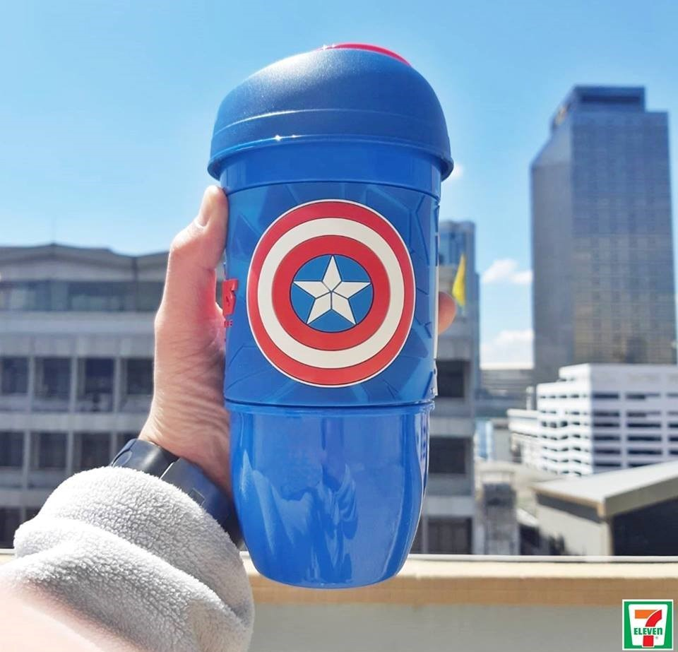 แก้วคอล AVENGERS Captain America