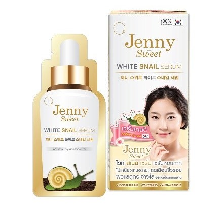 Jenny Sweet White Snail Serum