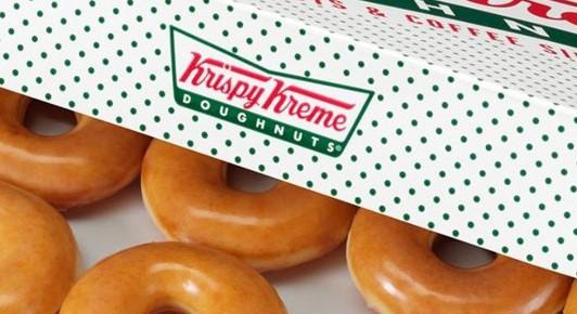 Krispy Kream ซื้อ 1 แถม 1