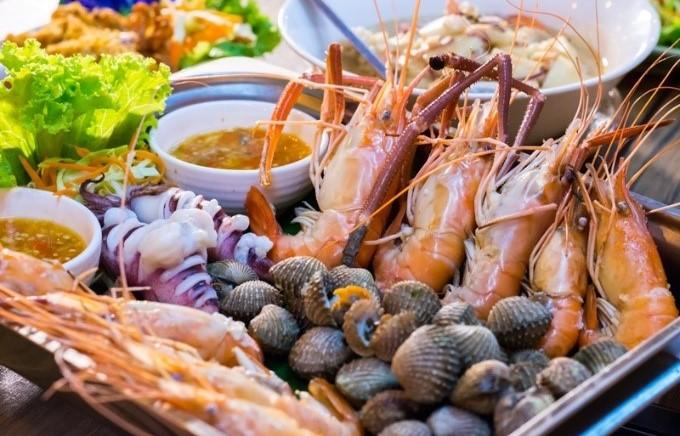 อาหารทะเลบางชนิด