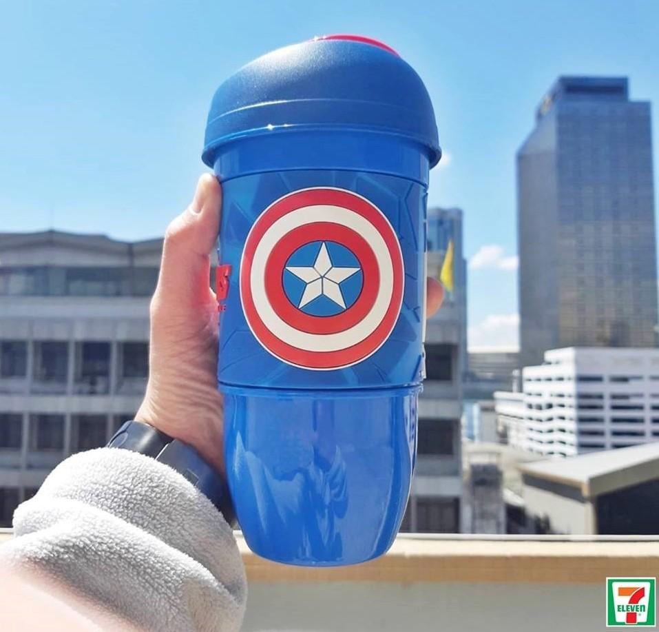 แก้วน้ำลาย Captain America