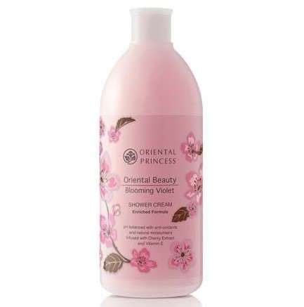 Oriental Princess, Oriental Beauty Blooming Violet Shower Cream