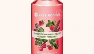 Yves Rocher Raspberry Peppermint Energizing Bath & Shower Gel