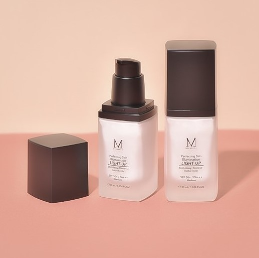 รองพื้น Merrez'Ca Perfecting Skin Illumination Light Up SPF50 PA+++