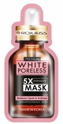 Rojukiss White Poreless 5X Intensive Mask For Stubborn Spots & Dullness