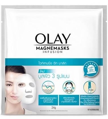 Olay Magnemask Whitening Sheet Mask
