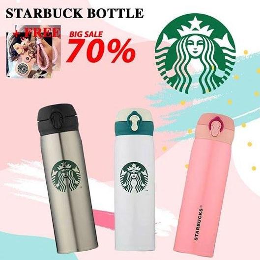 ซื้อ Starbuck Bottle รับฟรี พวงกุญแจ Starbuck สุดคิ้วท์