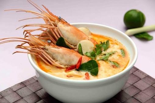 เมนูอาหารไทย ต้มยำกุ้ง