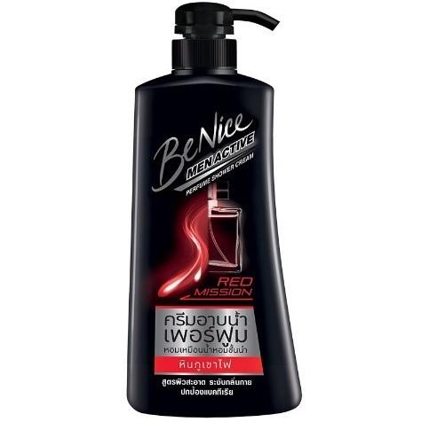 Benice Men Active Perfume Shower Cream สูตรหินภูเขาไฟ