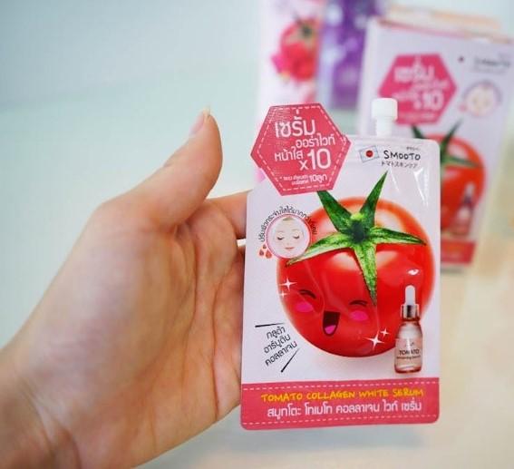 Smooto Tomato Collagen White & Smooth Mask